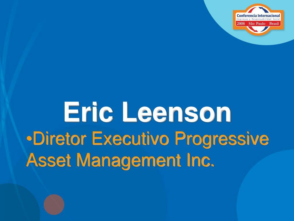 Eric Leenson