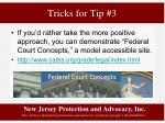 tricks for tip 34