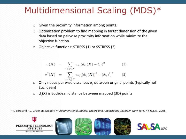 Multidimensional Scaling (MDS)*