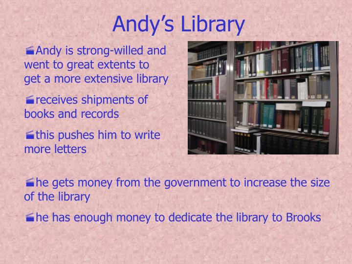 Andy's Library