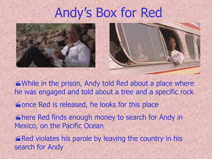 Andy's Box for Red
