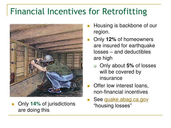 Financial Incentives for Retrofitting