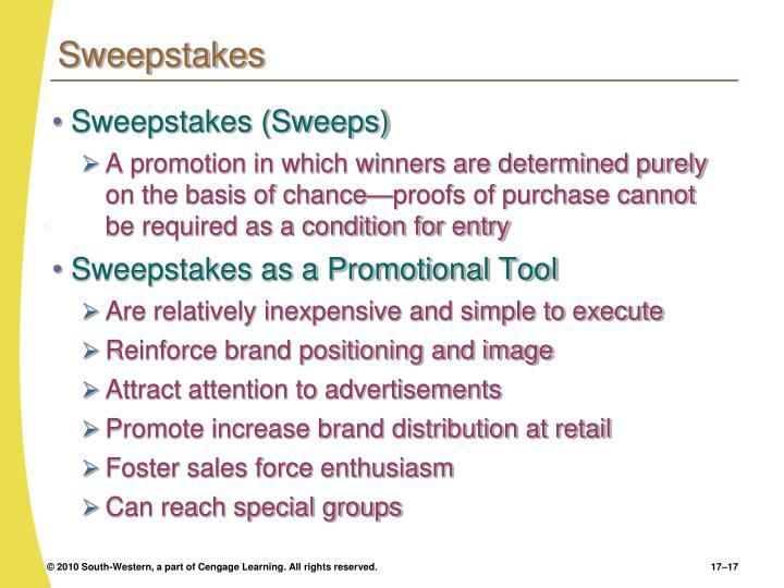 Sweepstakes