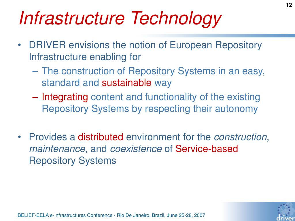Infrastructure Technology