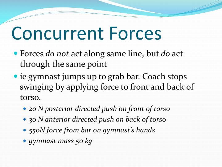 Concurrent Forces