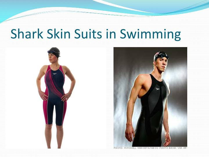 Shark Skin Suits in Swimming