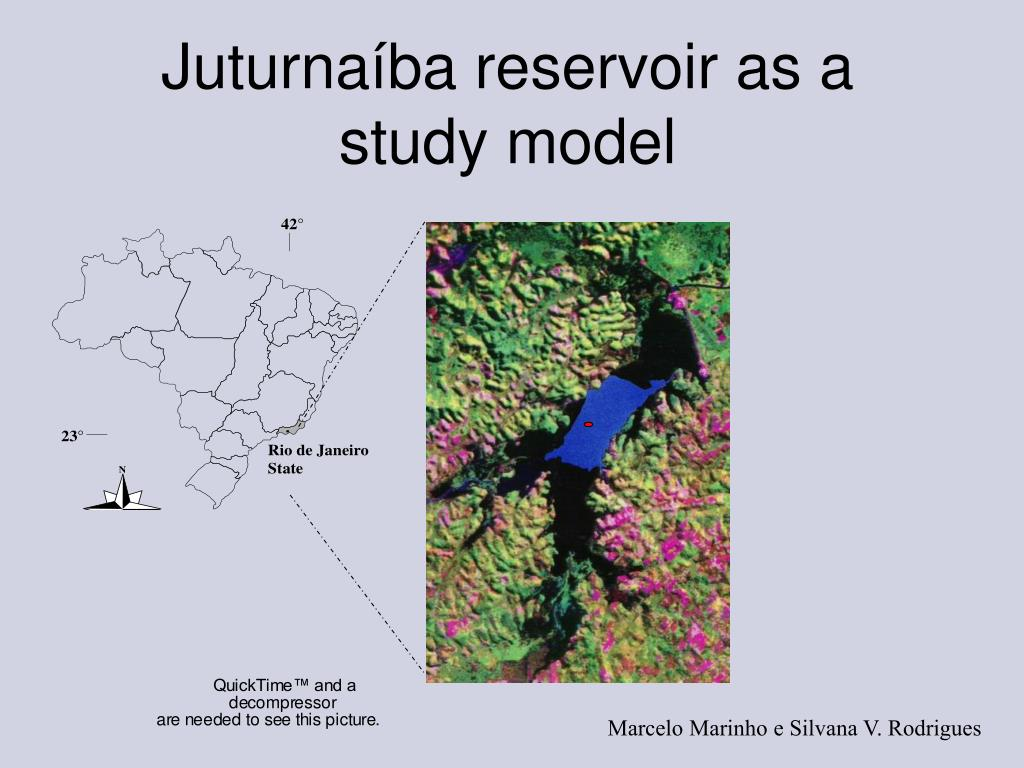 Juturnaíba reservoir as a study model