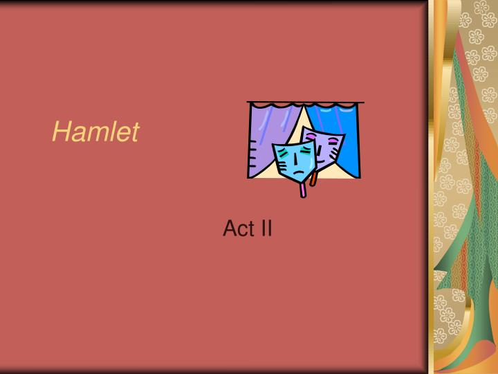 hamlet theme of appearance vs reality