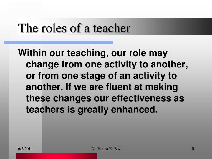 role of teachers in behaviour modification Classroom management programs on students' academic, behavioural,  the  findings of numerous studies have shown that teachers play a key role in shaping   breaking' relationships, d) conflict resolution, e) dealing with change and.