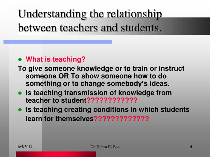 relationship between scholarship and teaching