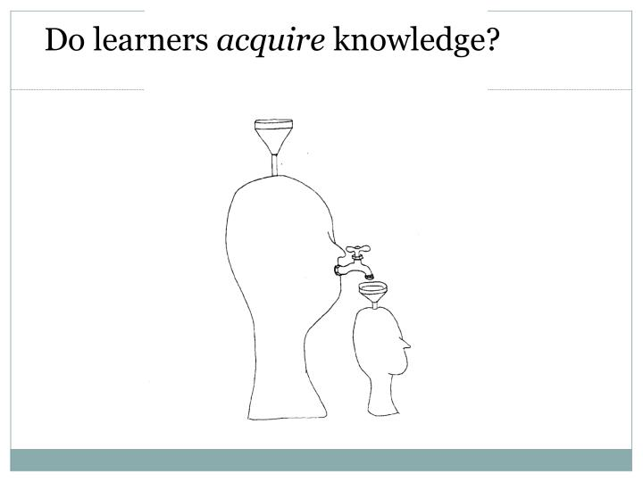 Do learners