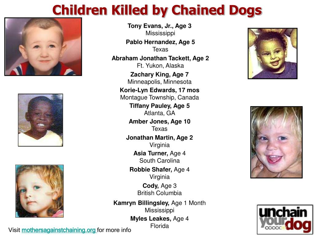 Children Killed by Chained Dogs