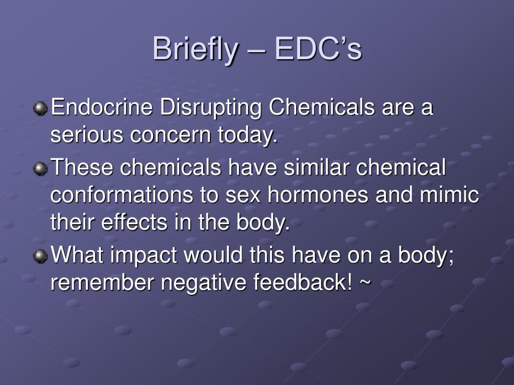 Briefly – EDC's