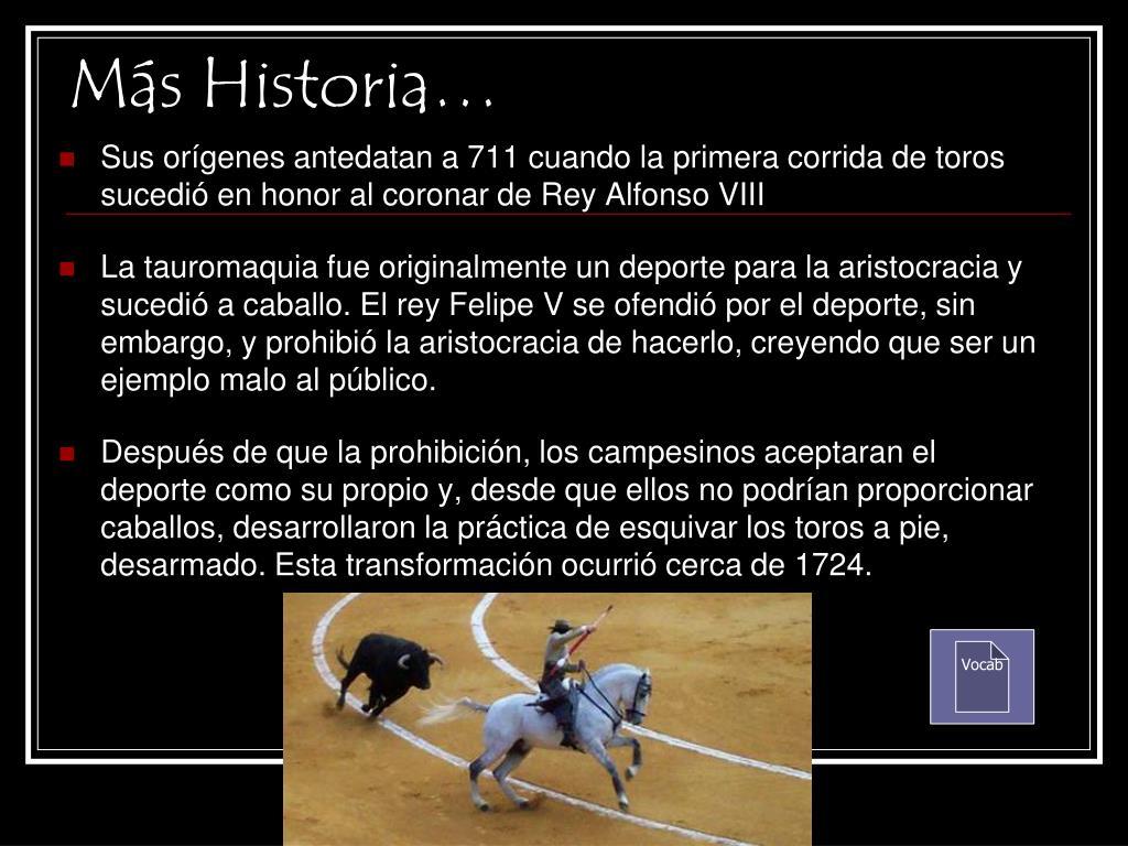 Más Historia…