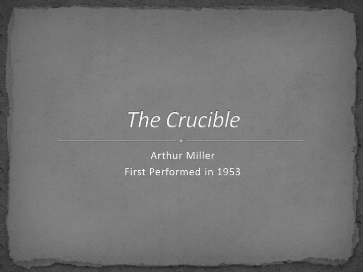 the crucible troubles in the proctor Important persons in the salem court records john proctor john proctor was an the crucible does bring attention to the story of john proctor and his.