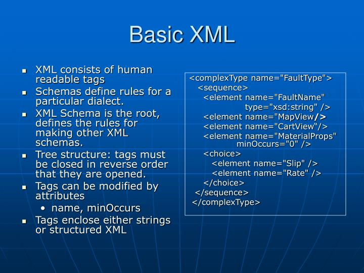 XML consists of human readable tags