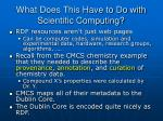 what does this have to do with scientific computing