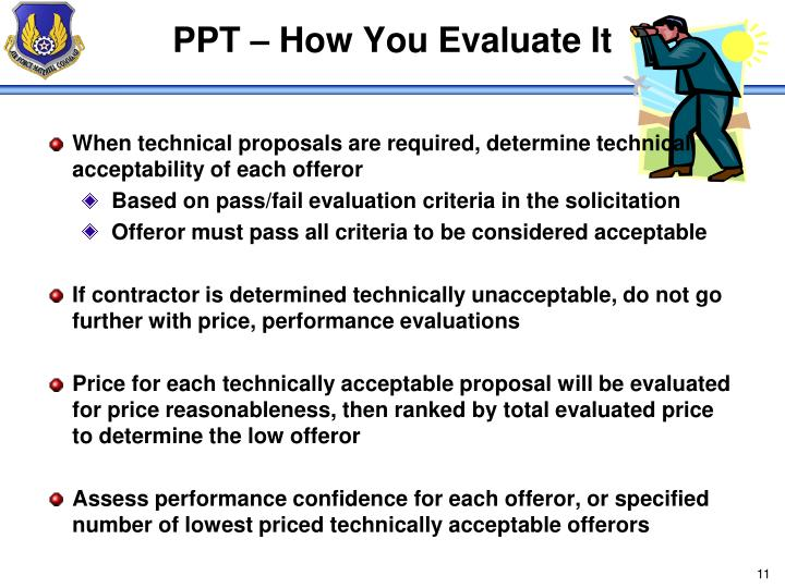 PPT – How You Evaluate It