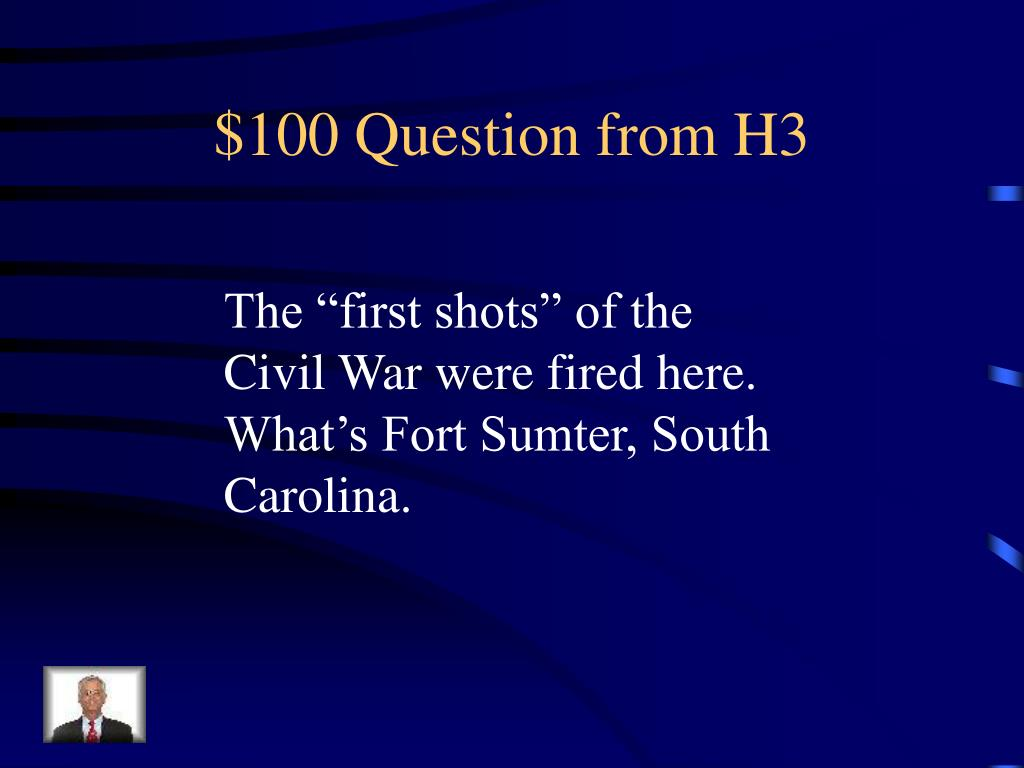 $100 Question from H3