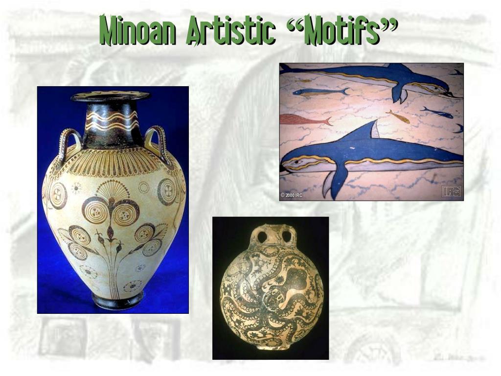 """Minoan Artistic """"Motifs"""""""