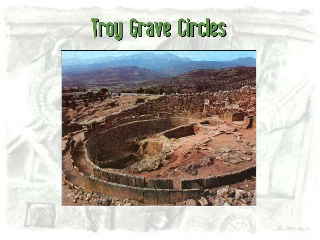 Troy Grave Circles
