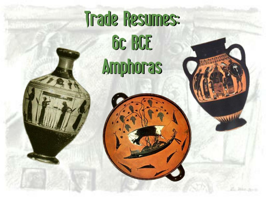 Trade Resumes: