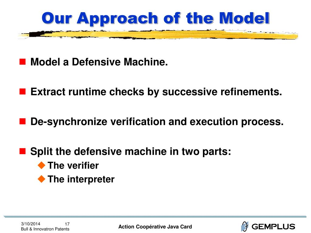 Our Approach of the Model