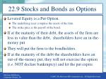 22 9 stocks and bonds as options1