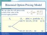 binomial option pricing model4