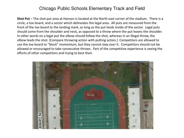 Chicago Public Schools Elementary Track and Field