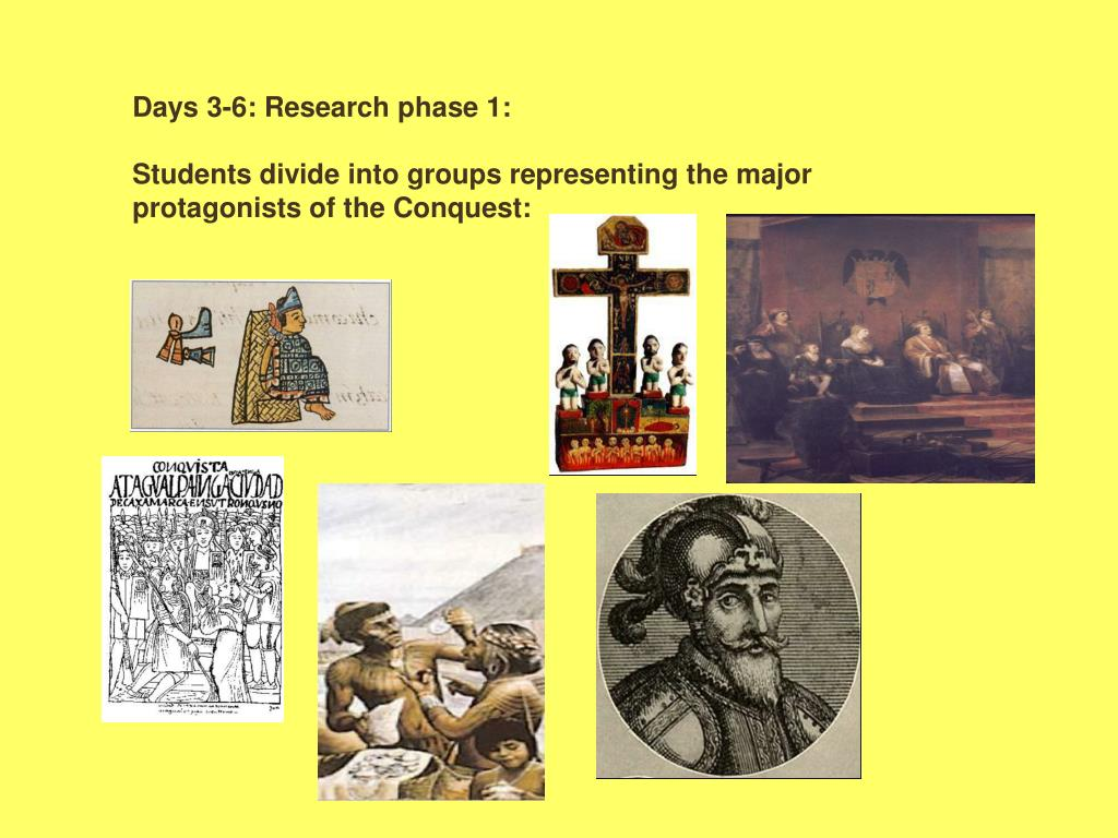 Days 3-6: Research phase 1: