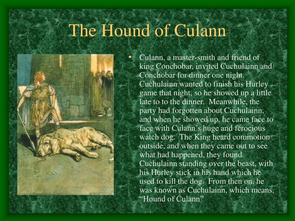 The Hound of Culann