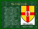 the ulster cycle