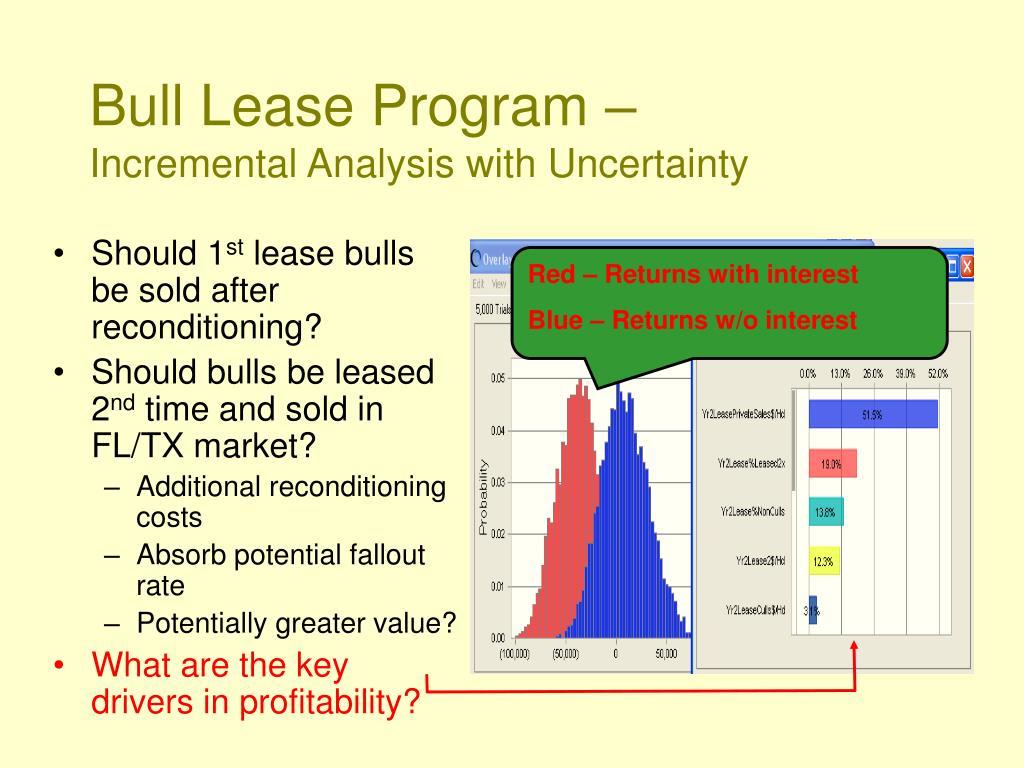 Bull Lease Program –