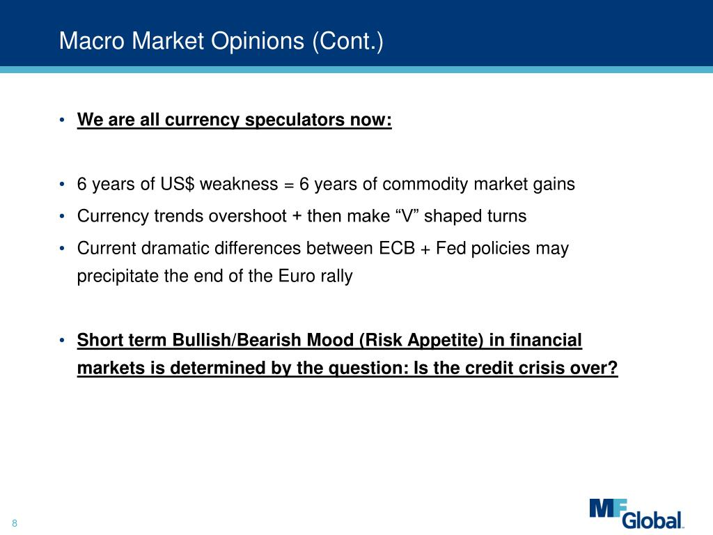 Macro Market Opinions (Cont.)