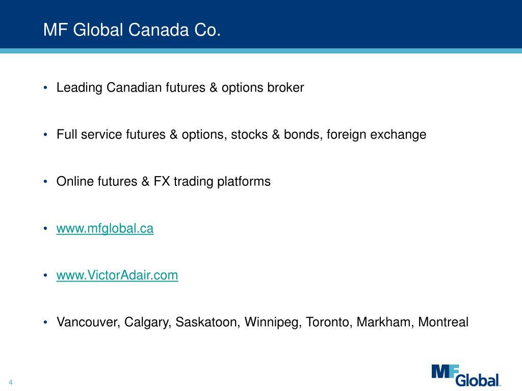 MF Global Canada Co.