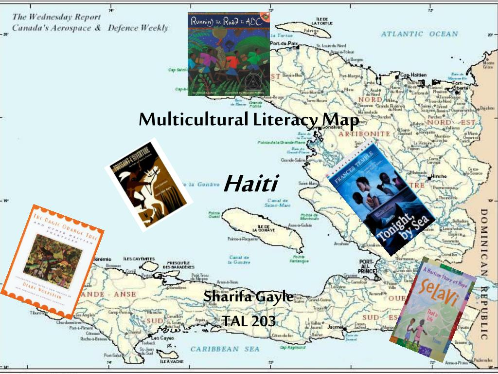 Multicultural Literacy Map