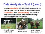 data analysis test 1 cont