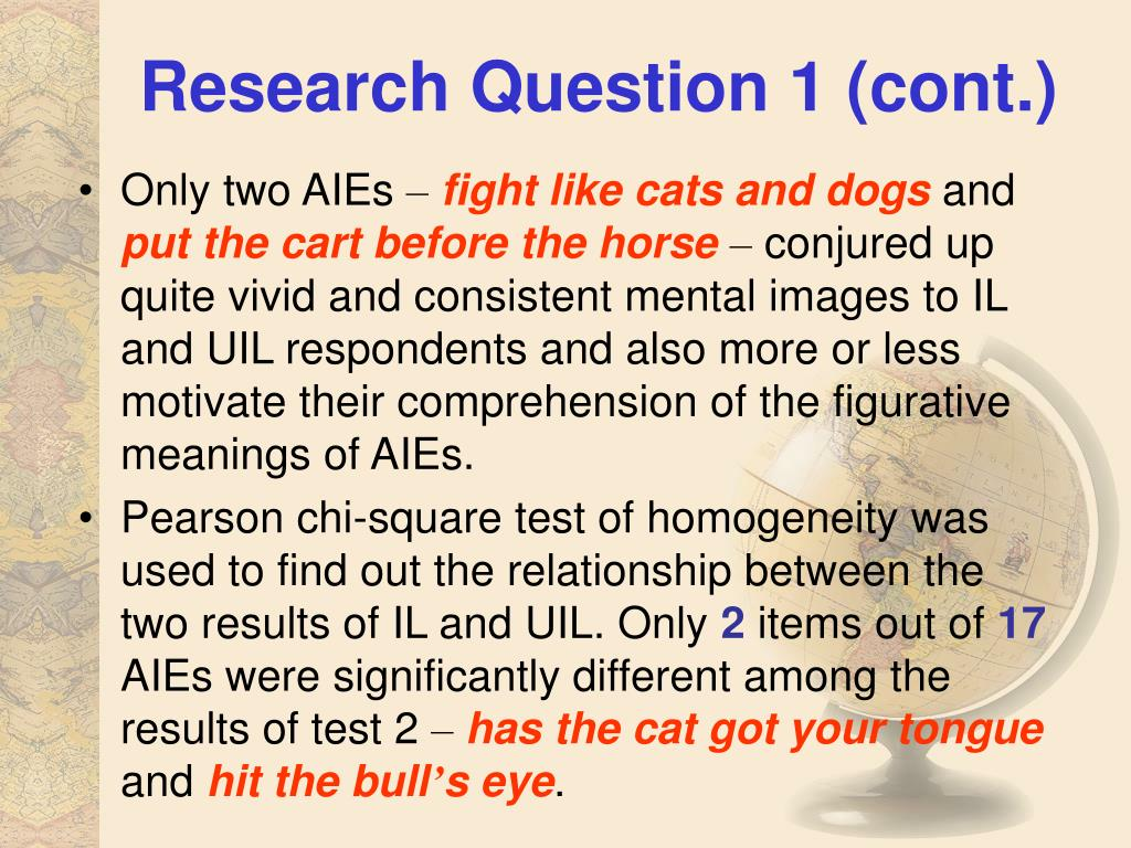 Research Question 1 (cont.)