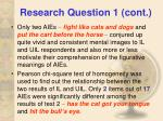 research question 1 cont