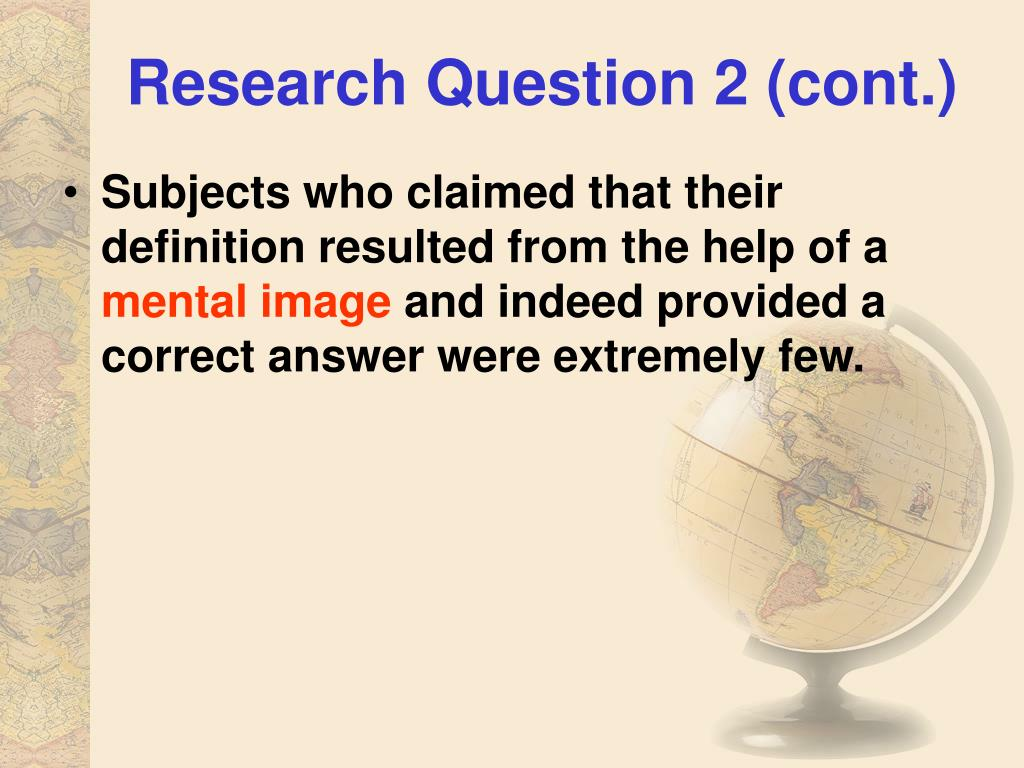 Research Question 2 (cont.)