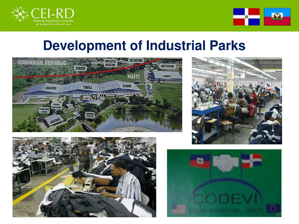 Development of Industrial Parks
