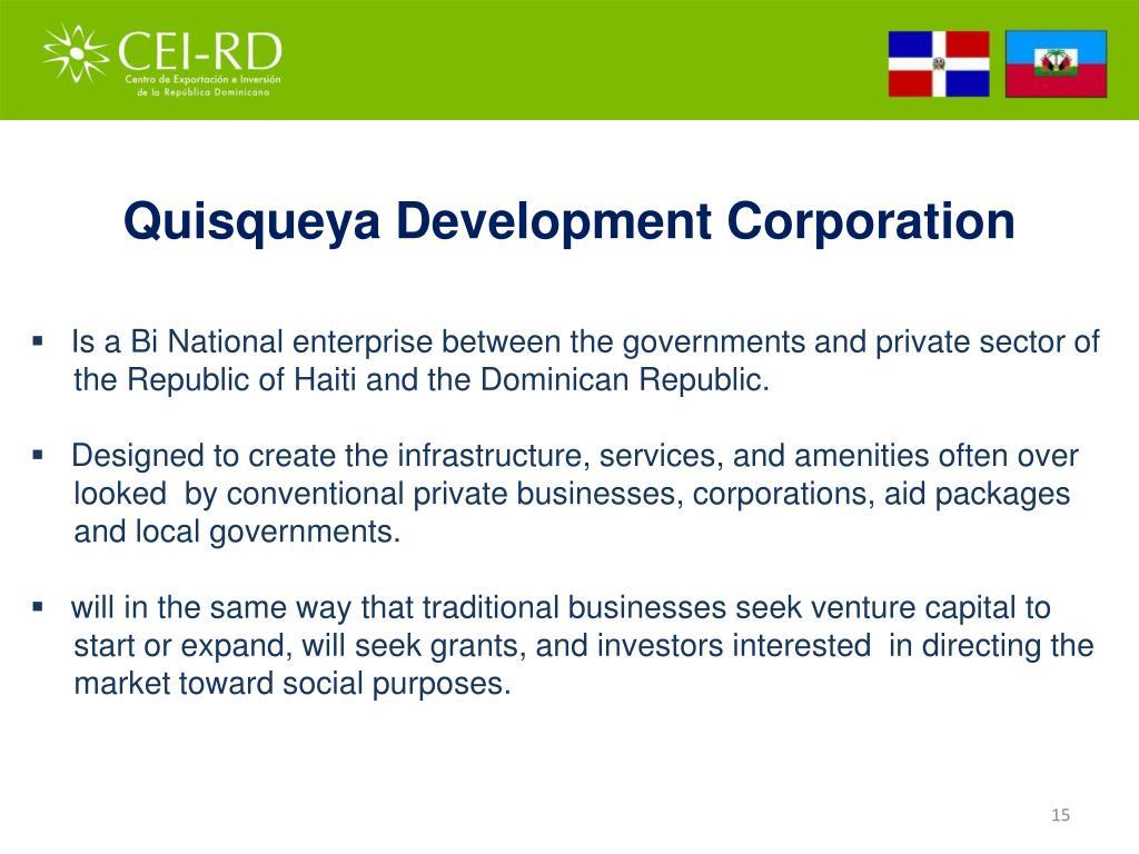 Quisqueya Development Corporation
