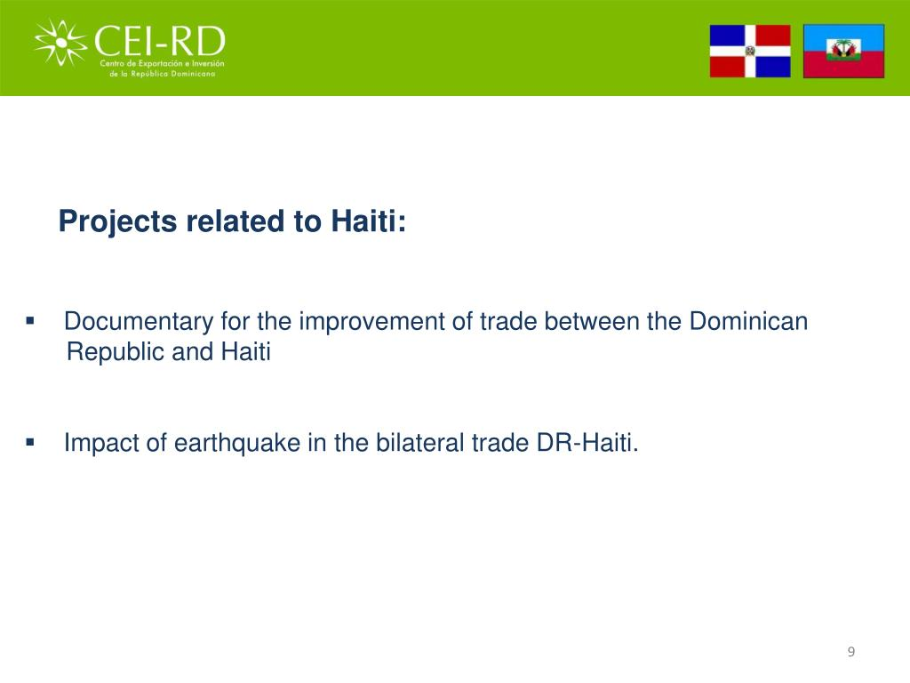 Projects related to Haiti:
