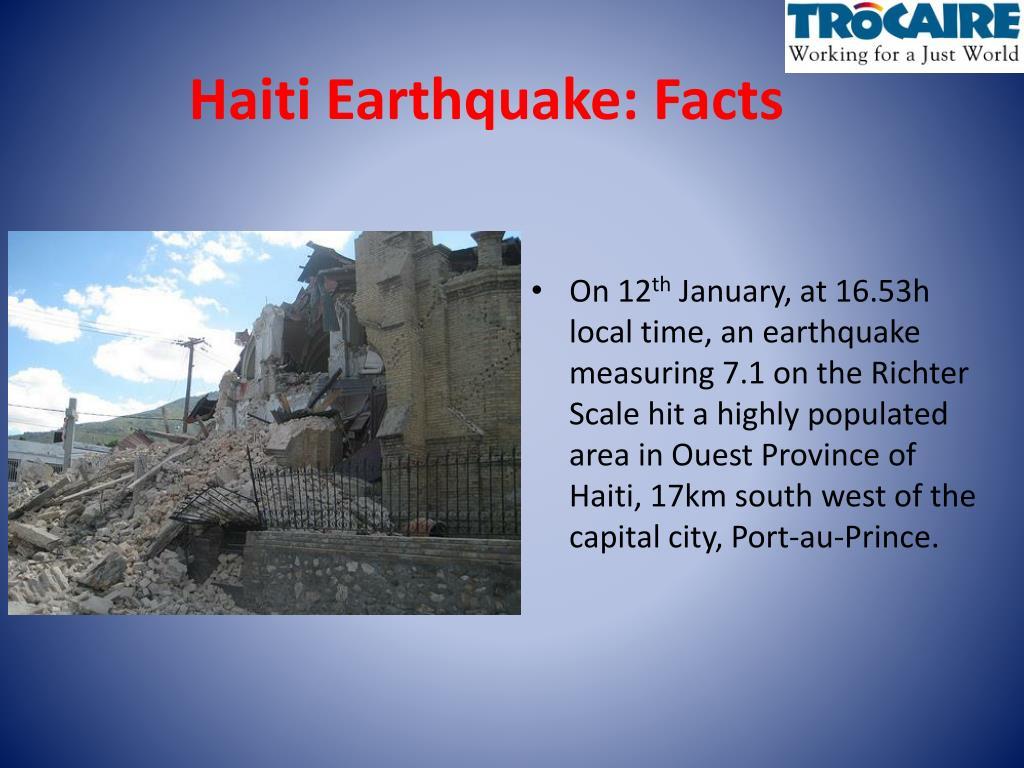 Haiti Earthquake: Facts