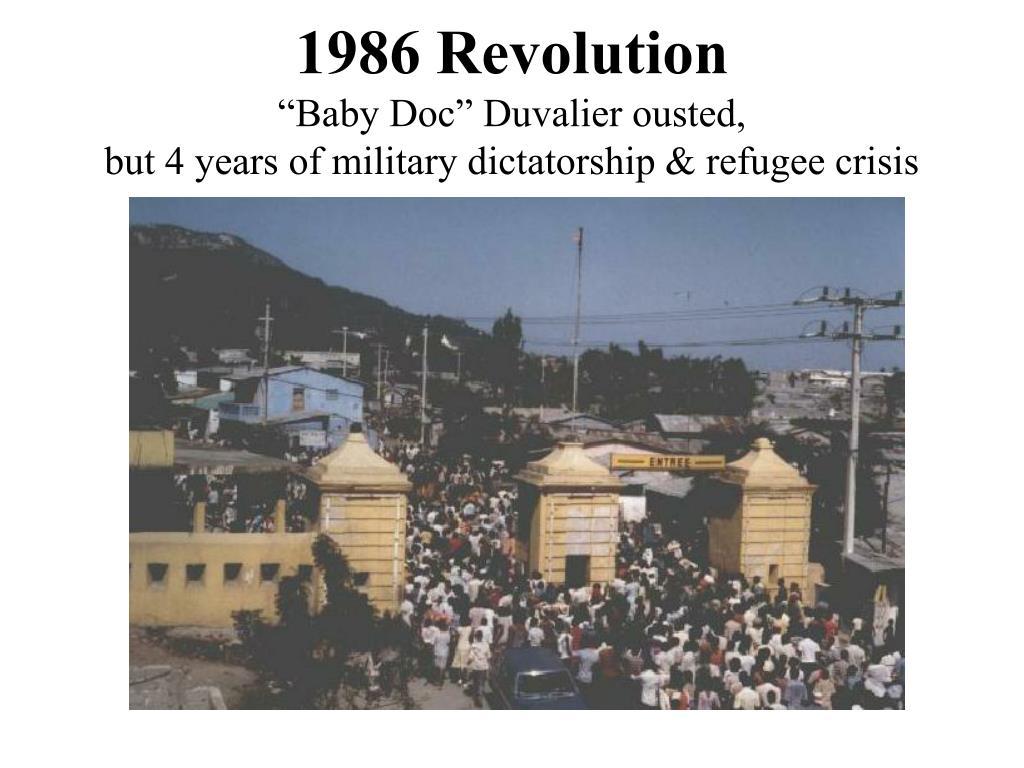 1986 Revolution