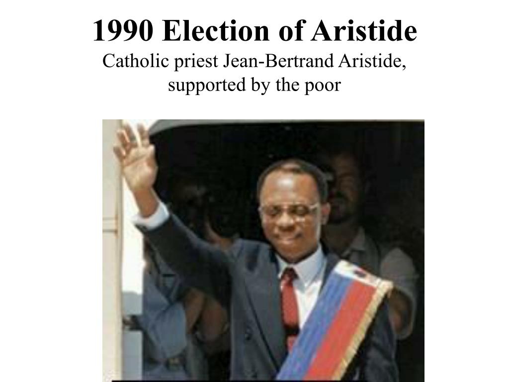 1990 Election of Aristide