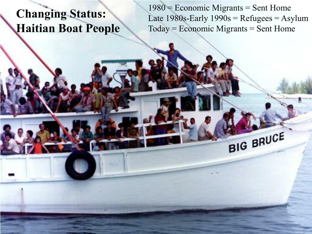 1980 = Economic Migrants = Sent Home