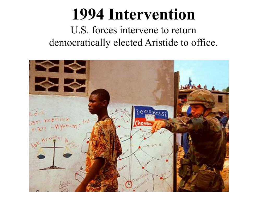 1994 Intervention