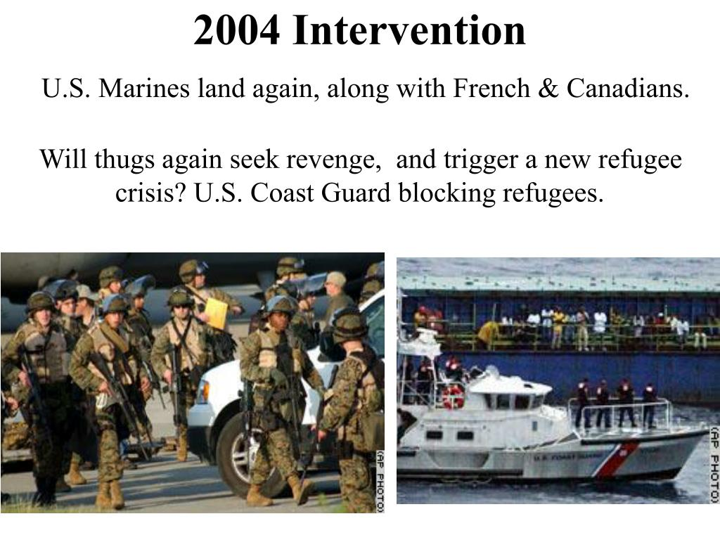 2004 Intervention